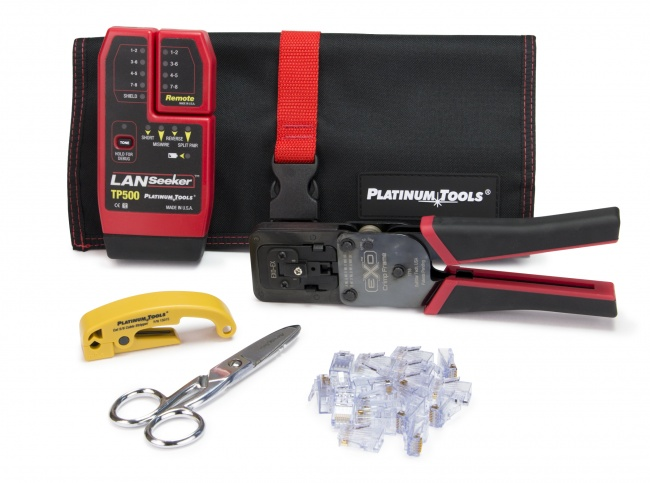 EXO ezEX-RJ45 Termination and Test Kit - Platinum Tools