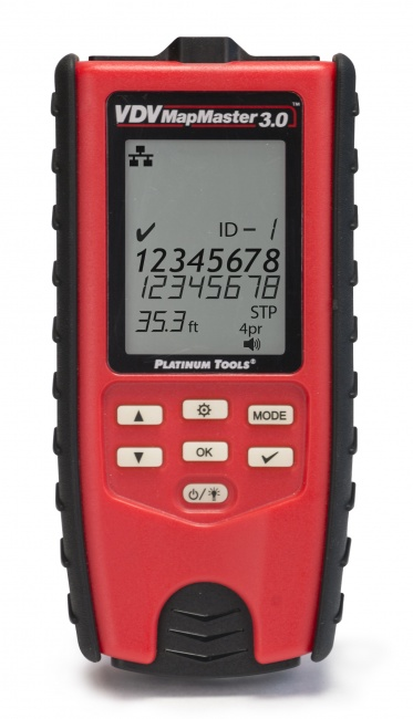 VDV MapMaster 30 - Cable Tester - Platinum Tools