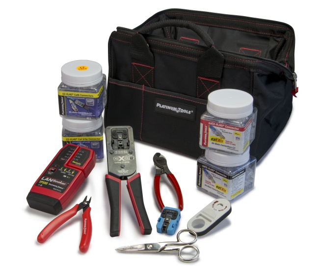 EXO Deluxe Termination and Test Kit - Platinum Tools