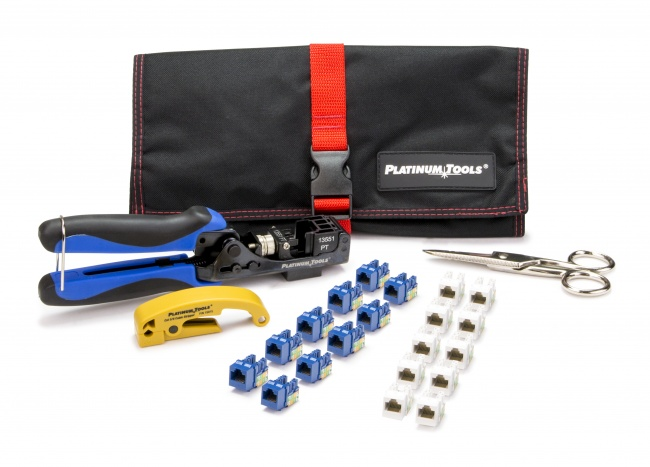 Xpress Jack Keystone Termination Kit - Platinum Tools