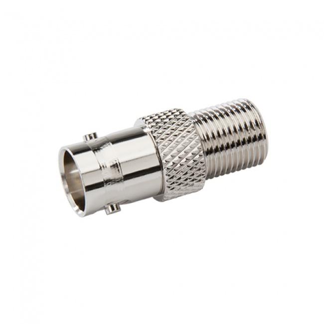 Coax Adapter: BNC Female to F Female - Platinum Tools