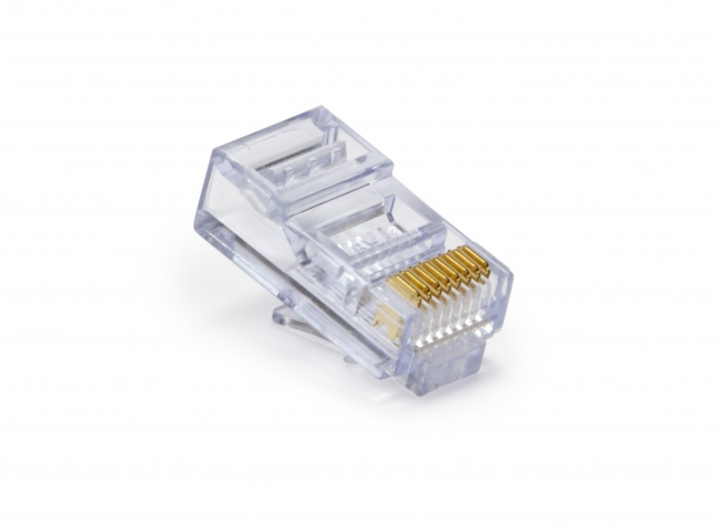 Platinum Tools® P//N 202003J EZ-RJ45® Cat5//5e Connectors Box Of 100