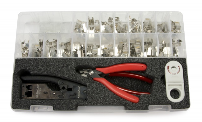 Cat6A7 28 - 26 AWG Termination Kit - Platinum Tools